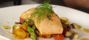 Wild Salmon Marinated in Italian Vinaigrette Recipe